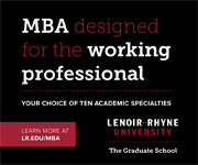 Lenoir-Rhyne University MBA - Graduate School Search