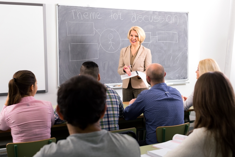 Working as a TA during your studies can help build your public speaking skills.